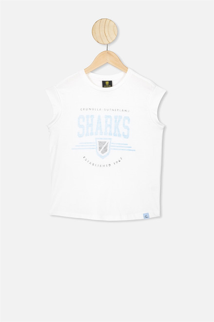 Youth Muscle Tank - White