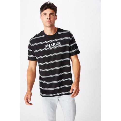 Mens Stripe Logo T-shirt