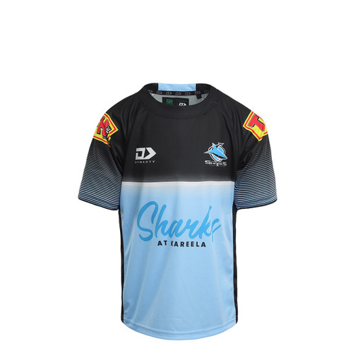 2021 Sharks Junior Alternate Training Tee