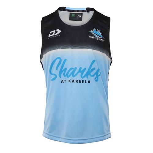 2021 Sharks Mens Alternate Training Singlet