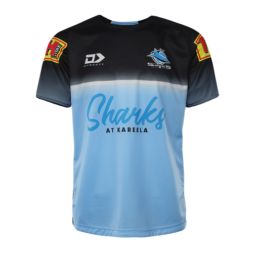 2021 Sharks Mens Alternate Training Tee