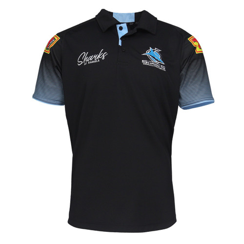 2021 Sharks Mens Media Polo