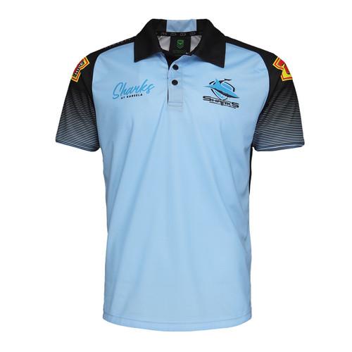 2021 Sharks Mens Training Polo