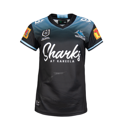 2021 Sharks Ladies Alternate Jersey