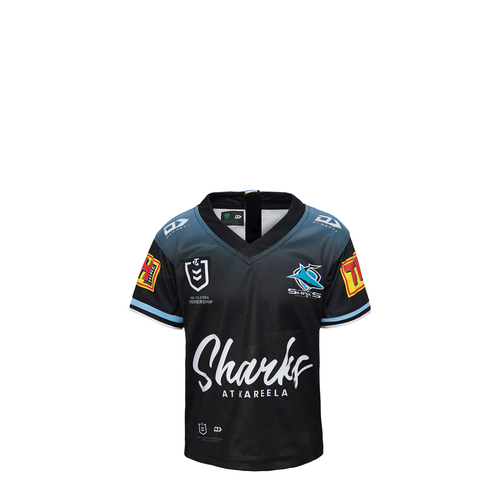 2021 Sharks Toddler Alternate Jersey