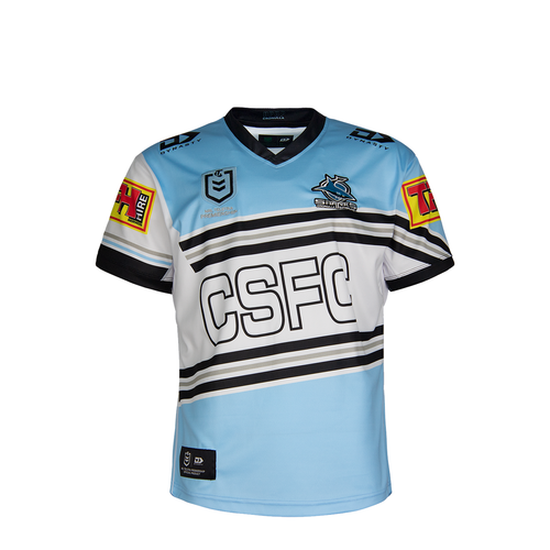 2021 Sharks Junior Heritage Jersey