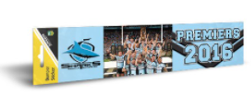GF16 Sharks Bumper Sticker