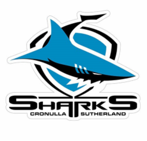 Sharks Logo Sticker