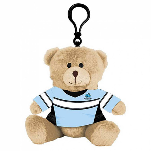 Sharks Teddy Bag Tag