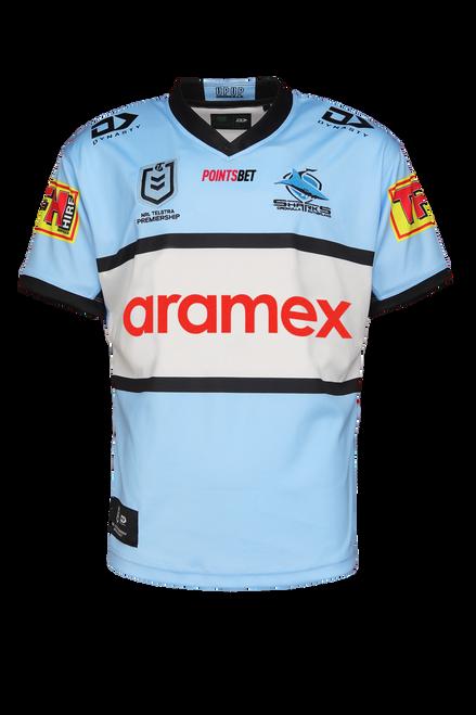 2021 Sharks Junior Home Jersey (New Sponsors)