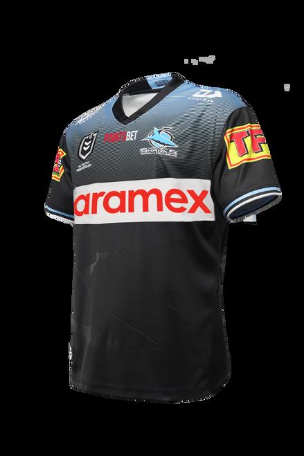 2021 Sharks Junior Alternate Jersey (New Sponsors)