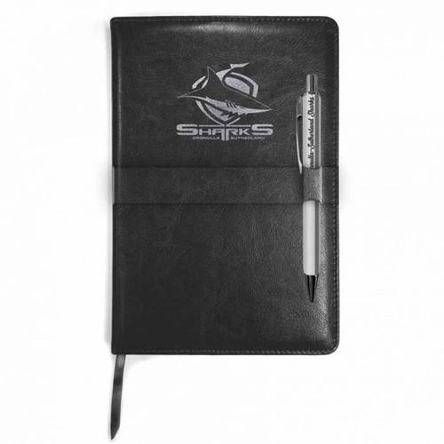 Sharks Notebook & Pen Gift Pack