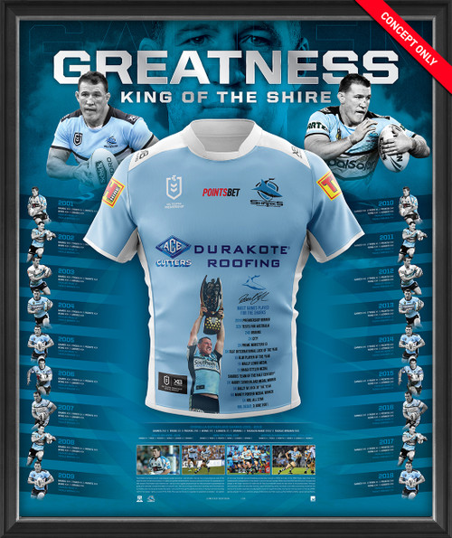 "Paul Gallen Retirement ""Greatness"" Jersey"