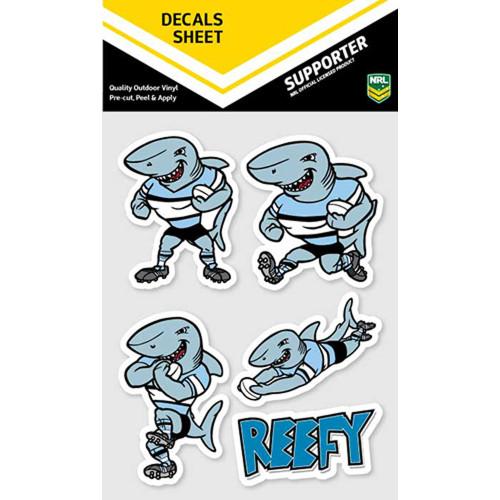 Decal - Mascot Sheet