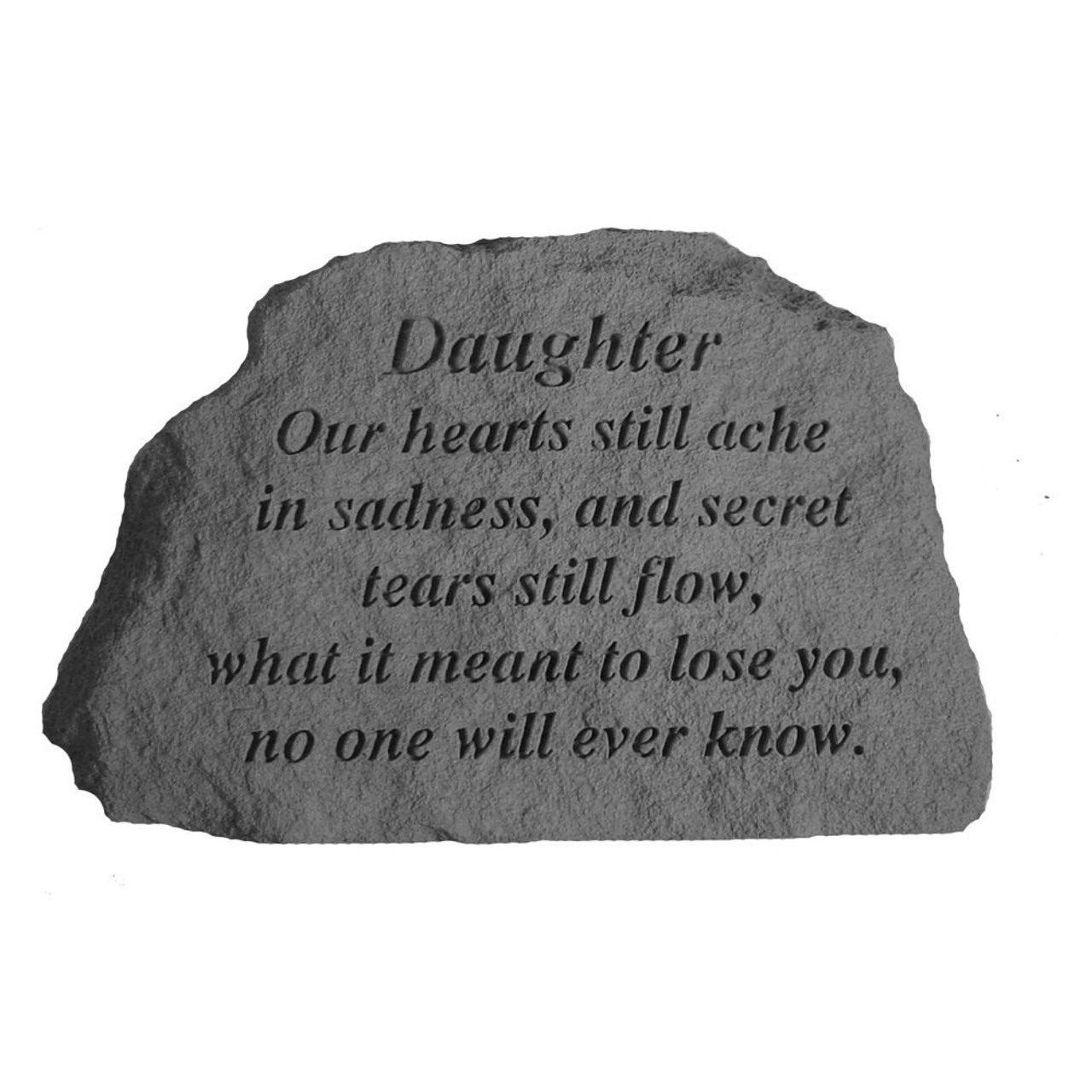 Daughter Memorial Plaque