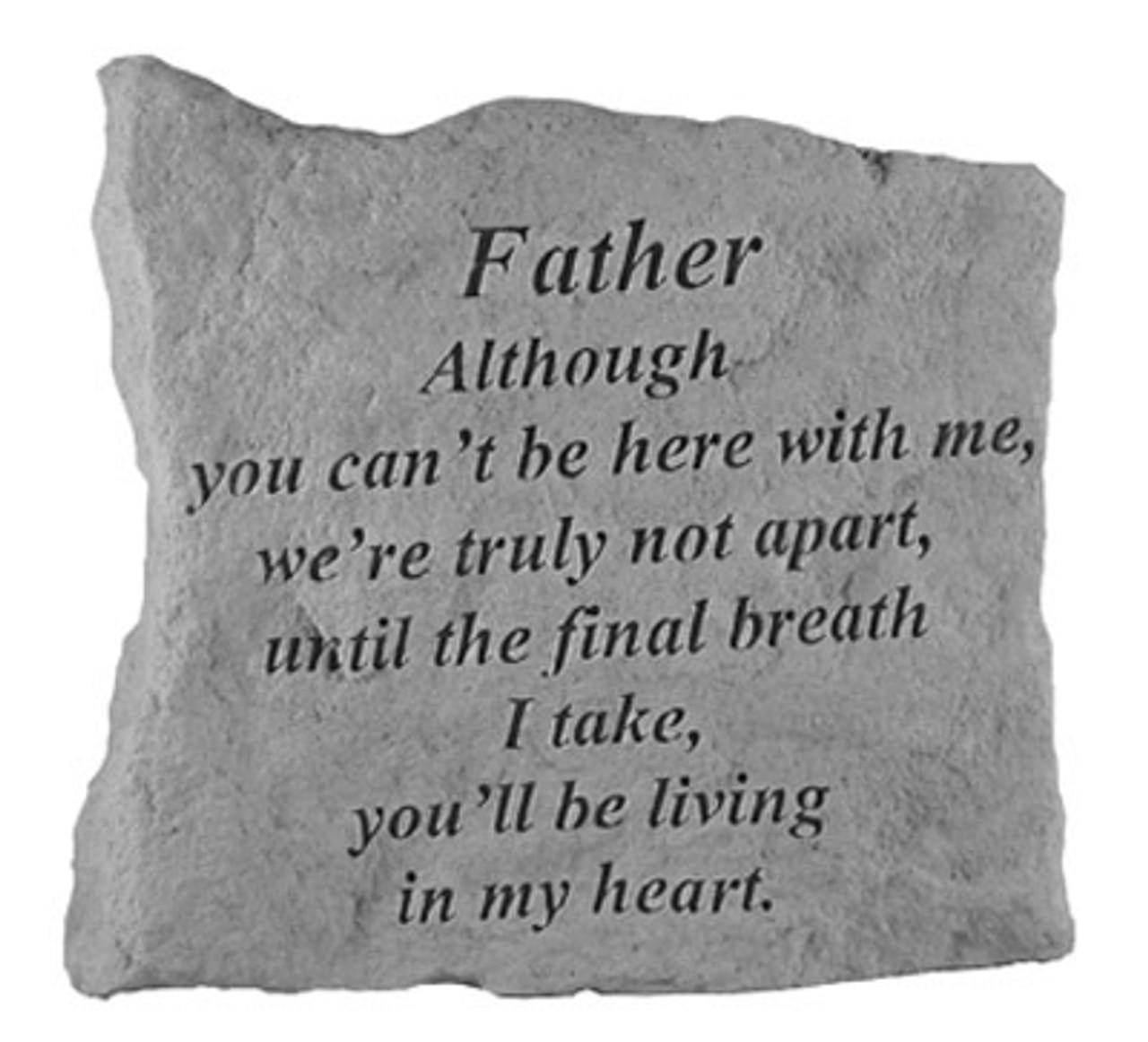 Father  Memorial Plaque
