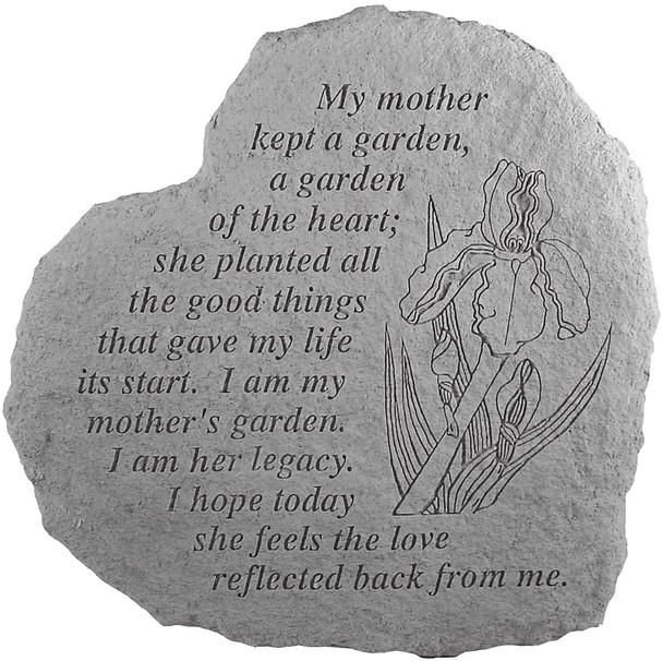 8220 - A mother kept a garden
